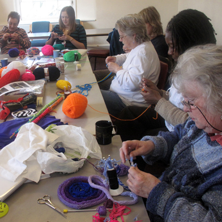 Participation and FRench Knitting