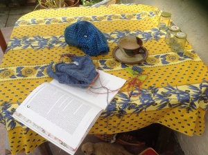 Knitting and research reading